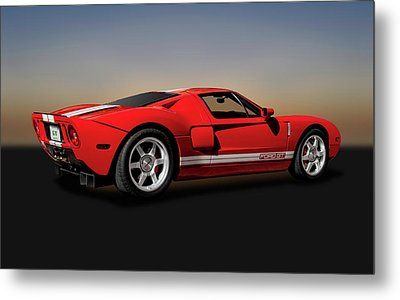 2006 Ford Gt  -  2006fordgt9469 Metal Print by Frank J Benz