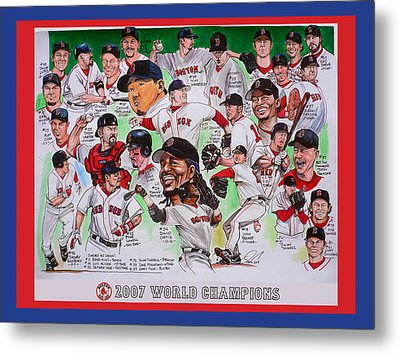 2007 World Series Champions Metal Print