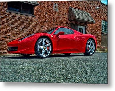 2012 Ferrari 458 Spider Metal Print by Tim McCullough