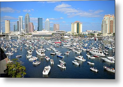 2013 Gasparilla Pirate Fest Metal Print by David Lee Thompson