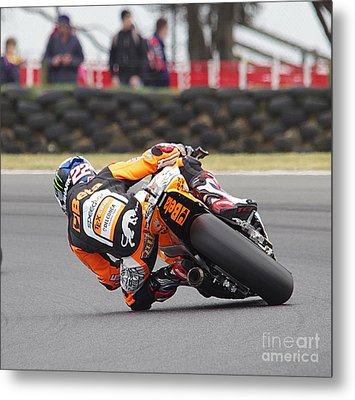 2015 Moto Grand Prix Metal Print by Blair Stuart