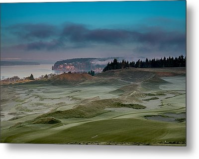 2015 Us Open - Chambers Bay Vi Metal Print by E Faithe Lester