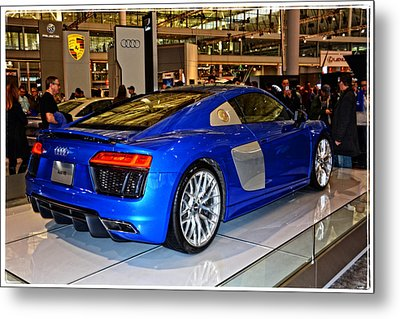 2016 Audi R8 Metal Print by Mike Martin