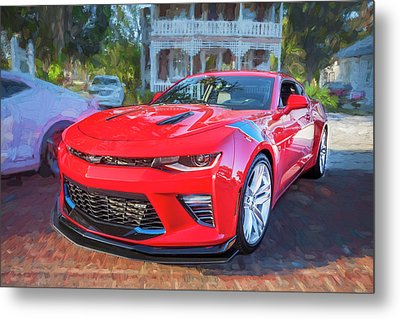 Metal Print featuring the photograph 2017 Chevrolet Camaro Ss2  by Rich Franco