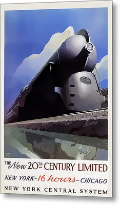 20th Century Limited Metal Print
