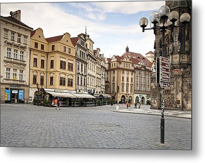 Prague Metal Print by Andre Goncalves