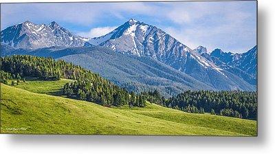 #215 - Spanish Peaks, Southwest Montana Metal Print