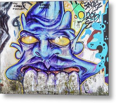 Graffiti Metal Print by Muhie Kanawati