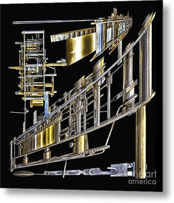 21st Century Erector Set ? Metal Print by Walt Foegelle