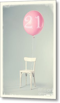 21th Birthday Metal Print by Edward Fielding