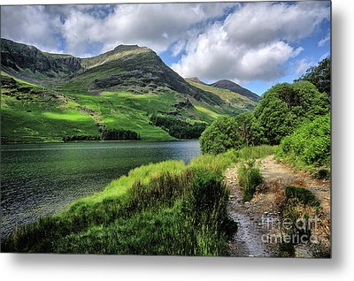 Buttermere Metal Print by Nichola Denny