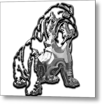 English Bulldog Collection Metal Print by Marvin Blaine
