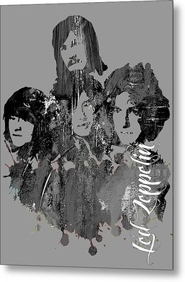 Led Zeppelin Collection Metal Print