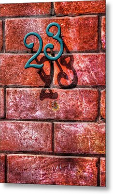 Metal Print featuring the photograph 23 by Paul Wear