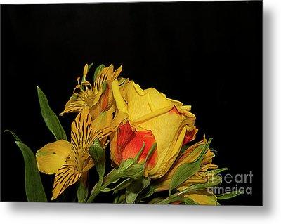 Colorful Flowers Metal Print by Elvira Ladocki