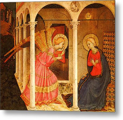 Fra Angelico  Metal Print by Fra Angelico