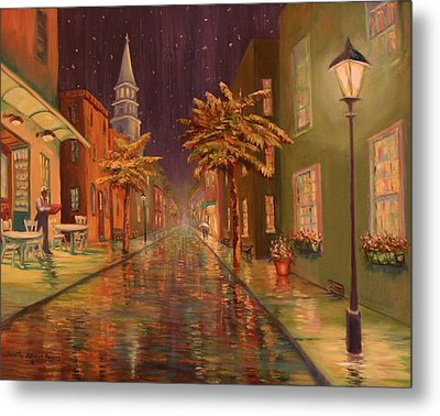24 Hour Delivery Metal Print by Dorothy Allston Rogers