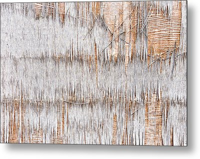 Weathered Wood Metal Print by Tom Gowanlock