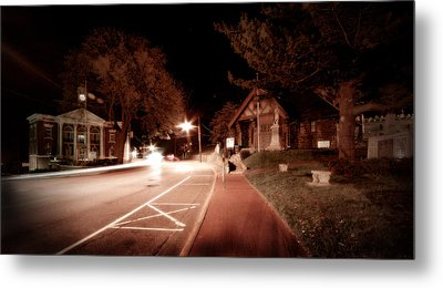 25a East Bound Metal Print by Michael Simeone
