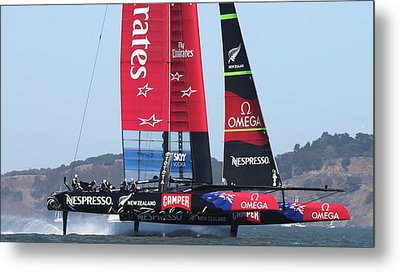 Emirates Team New Zealand Metal Print