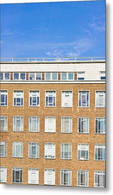 Modern Building Metal Print by Tom Gowanlock