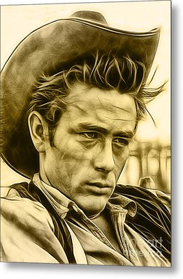 James Dean Collection Metal Print