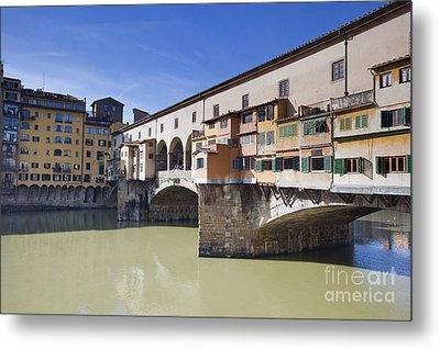 Ponte Vecchio Metal Print by Andre Goncalves