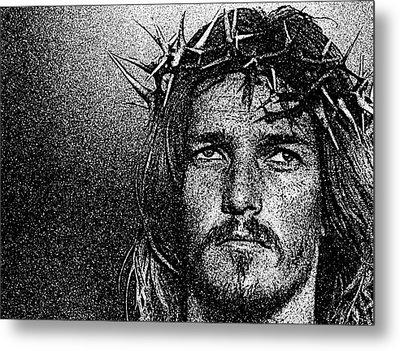 Jesus Christ - Religious Art Metal Print