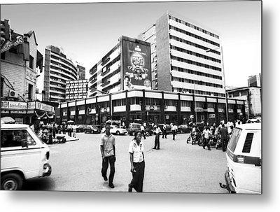 Cms, Odunlami Street Metal Print