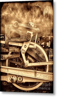 3 10 To Nowhere  Metal Print by American West Legend By Olivier Le Queinec