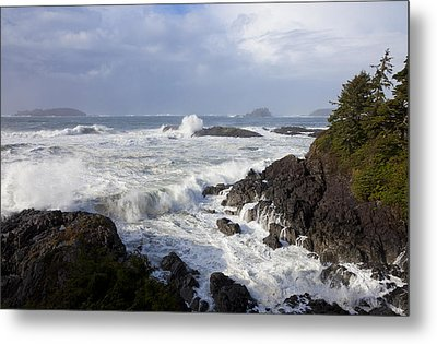 A Stormy Morning On The Wild West Coast Metal Print by Taylor S. Kennedy