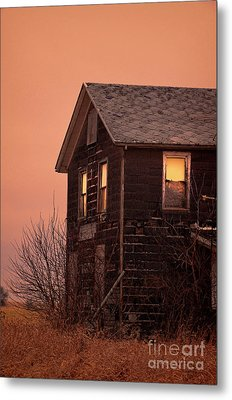 Metal Print featuring the photograph Abandoned House by Jill Battaglia