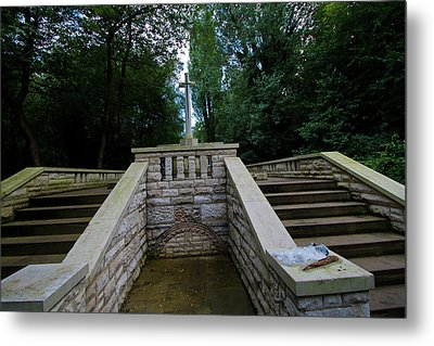 Abney Park Cemetery Metal Print by Oliver Kluwe