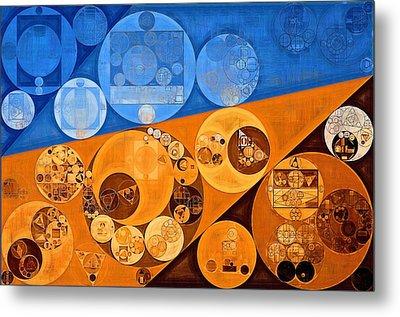Abstract Painting - Lochmara Metal Print by Vitaliy Gladkiy