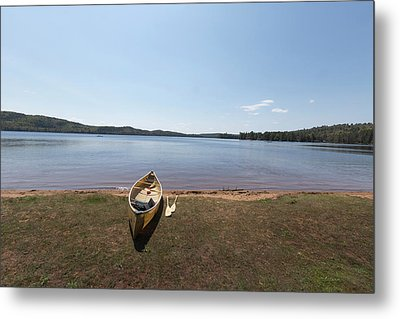 Algonquin Park, Ontario - Canada Metal Print by Josef Pittner
