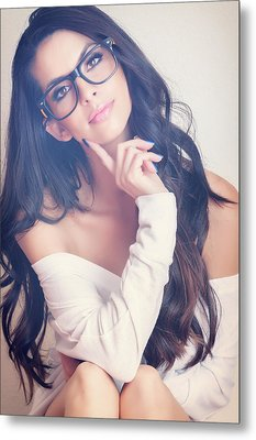 #angela Metal Print by ItzKirb Photography
