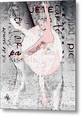 Ballet Metal Print by Lynda Payton