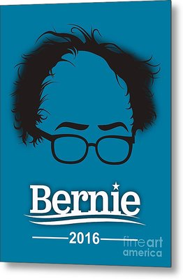 Bernie Sanders Metal Print by Marvin Blaine