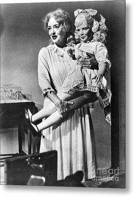 Bette Davis (1908-1989) Metal Print