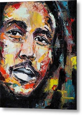 Bob Marley II Metal Print