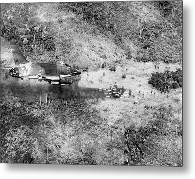Bombing Vietnam Metal Print