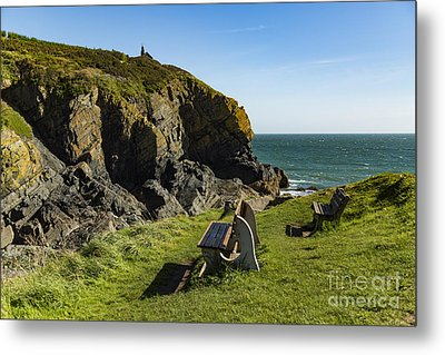 Metal Print featuring the photograph Cadgwith Cove by Brian Roscorla