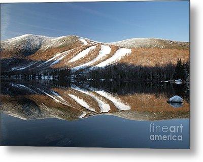 Cannon Mountain - White Mountains New Hampshire Usa Metal Print by Erin Paul Donovan