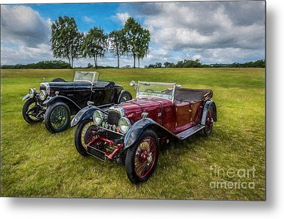 Classic Cars  Metal Print by Adrian Evans