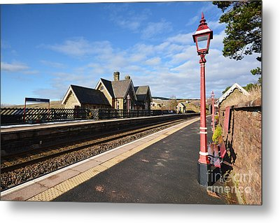 Dent Railway Station Metal Print by Nichola Denny