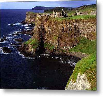 Dunluce Castle, Co. Antrim, Ireland Metal Print by The Irish Image Collection