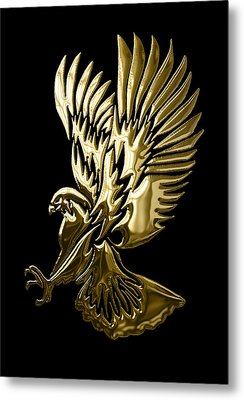 Eagle Collection Metal Print by Marvin Blaine