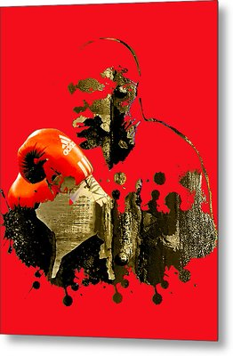 Evander Holyfield Collection Metal Print by Marvin Blaine