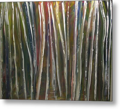 Fantasy Forest Series Metal Print by Dolores  Deal