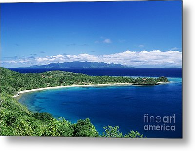 Fiji Wakaya Island Metal Print by Larry Dale Gordon - Printscapes